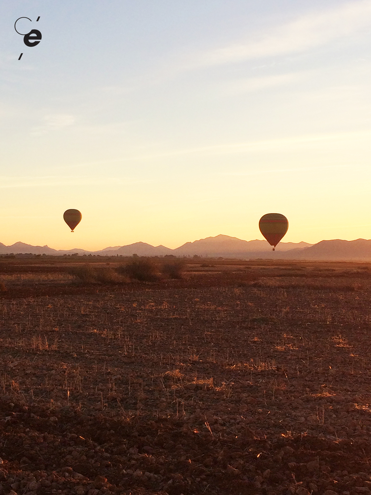 vol montgolfiere marrakech
