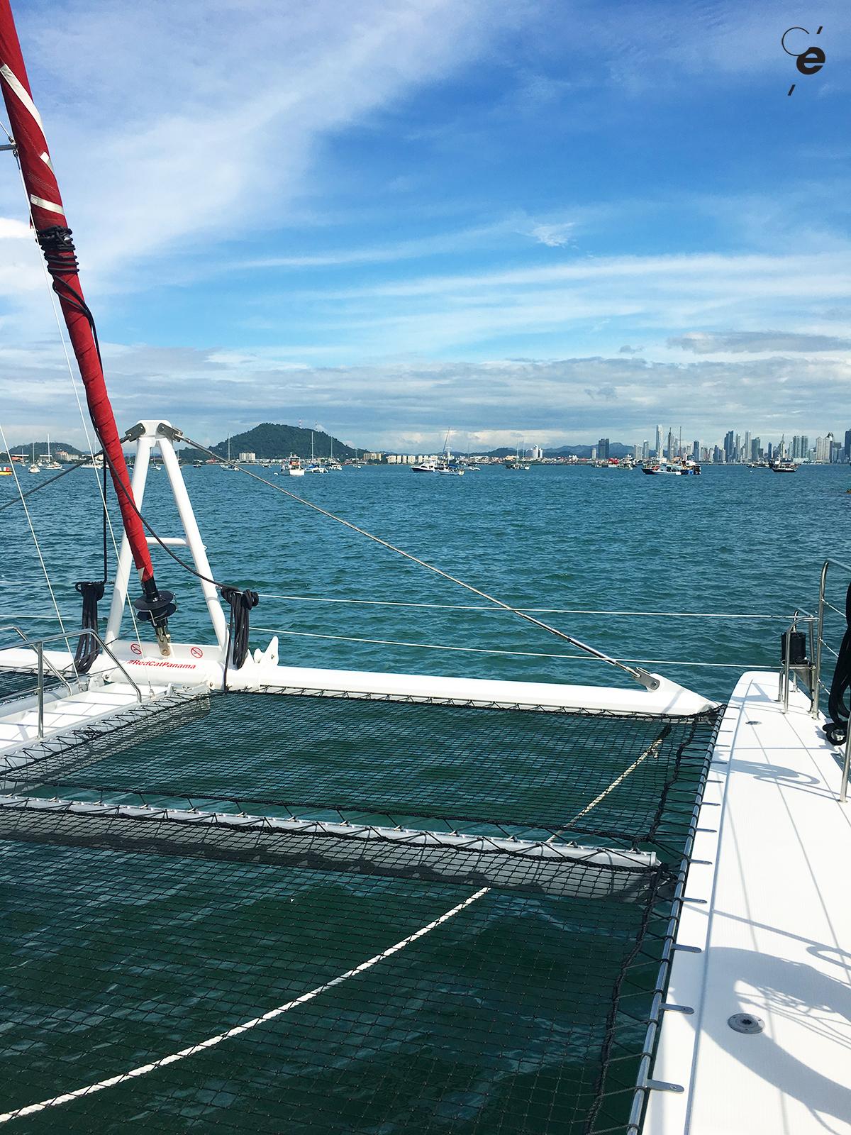 team building catamaran